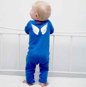 Personalised 'Heaven Sent' Baby Grow - baby shower gifts