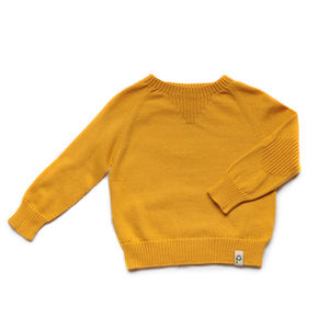 Baby Cotton And Cashmere Crew Neck - clothing