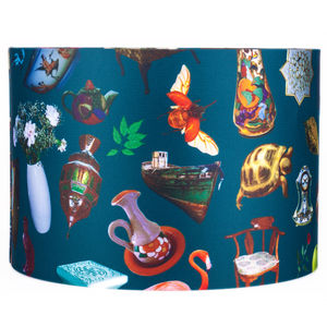 Jenny Collicott Teacup Lampshade - lamp bases & shades