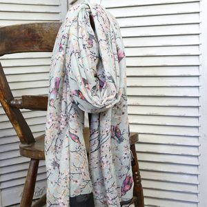 Bird And Blossom Scarf - free delivery gifts