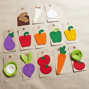 Handmade Felt Vegetable Gift Tags - other labels & tags