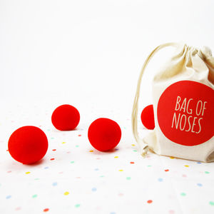 Clown Noses In A Bag