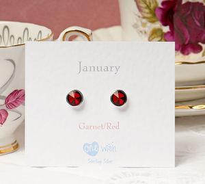 Birthstone Earrings - earrings