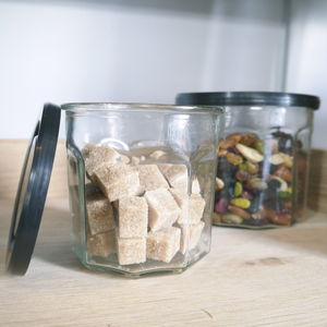 Glass Storage Jar With Lid - storage & organising