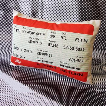 Brighton Train Ticket April