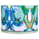 Jenny Collicott Blue Headed Parrot Lampshade