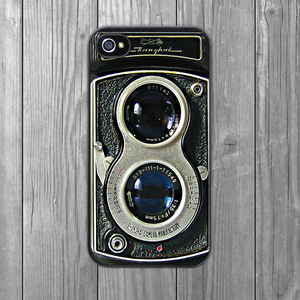 Retro Dual Lens Camera iPhone Case - tech accessories for her