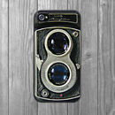 Retro Dual Lens Camera iPhone Case