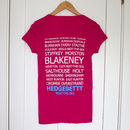 Betty Blakeney Destinations T Shirt