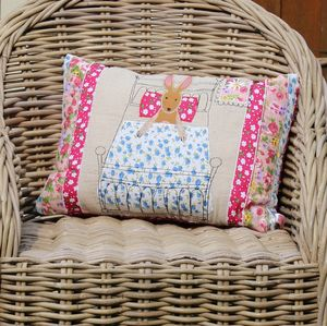 Rabbit Rectangle Cushion