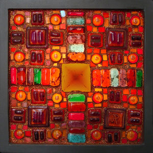 Global Treasury: Inka Lightbox - wall art