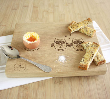 Love Owls Dippy Egg Board