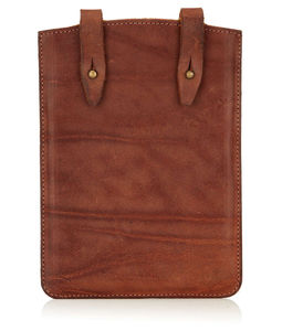 Kindle / iPad Mini Leather Satchel Case