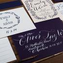 Fern Wedding Invitation