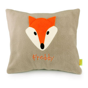 Fox Personalised Cushion - decorative accessories