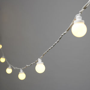 Outdoor Festoon Party Lights - garden party