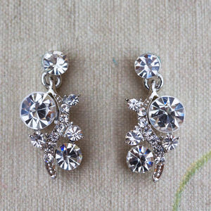 Aleah Crystal Earrings