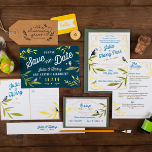 Birdies Wedding Invitation - invitations