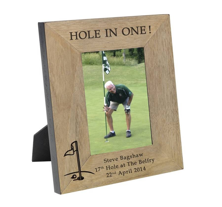 personalised frame for golf enthusiasts by babyfish ...