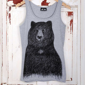 'Big Bear' Vest - tops & t-shirts
