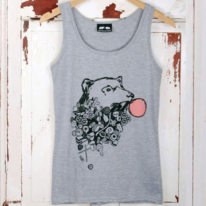 'Bear And Sweets' Vest - women's fashion