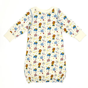 Lucy And Sam Circus Print Sleepgown - baby sleeping bags