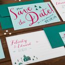 Winter Save The Date Card