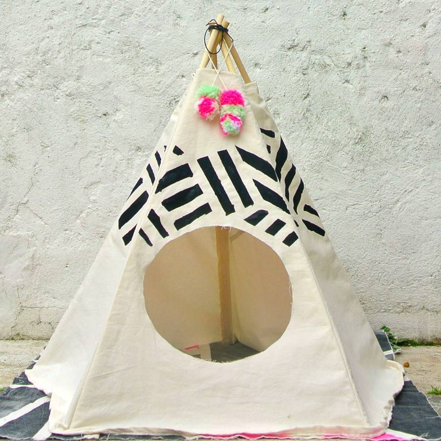 Striped Pet Tipi & striped pet tipi by pup tart handmade | notonthehighstreet.com