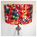 Large Geometric Spectrum Lampshade
