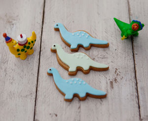 Dinosaur Biscuit Gift Set - party bags and ideas