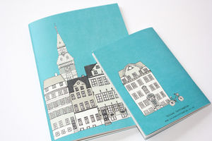 Copenhagen A5 Recycled Notebook Journal - travel & luggage