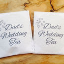 Paper Doily Wedding Favour Tea Pack Of 10