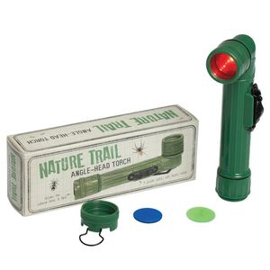 Nature Trail Torch With Coloured Lenses
