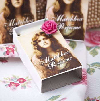 Vintage Sweetheart Matchbox Perfume