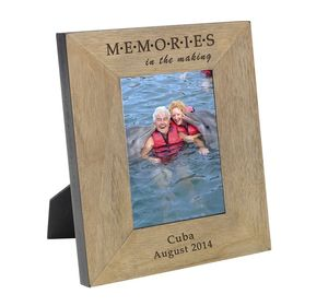 Personalised Memories Photo Frame Or Cube - picture frames