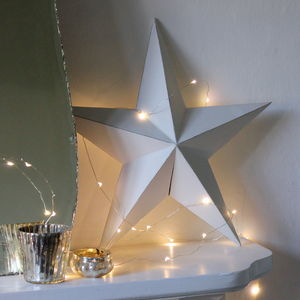 Copper Wire LED Battery Light Garland - lighting