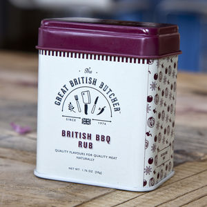 British BBQ Rub - food gifts