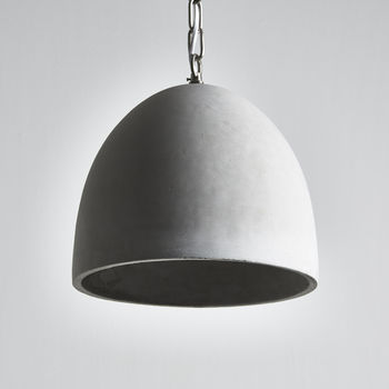 Concrete Pendant - Not on the High Street