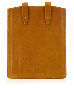 Personalised Leather Sleeve For iPad / Tablet
