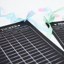 Personalised Baby Shower Predictions Board