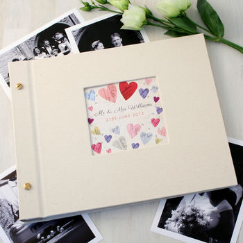 Personalised Wedding Photo Album