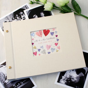 Personalised Wedding Photo Album - personalised wedding gifts