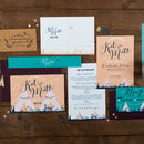 Teepee Wedding Invitation