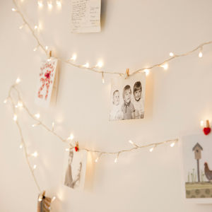 100 Warm White Fairy Lights - christmas lighting