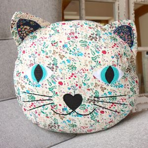 Jessie The Cat Cushion - baby's room
