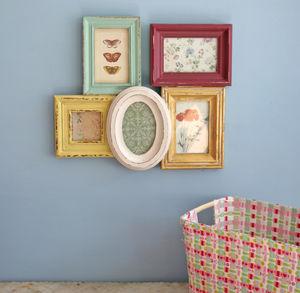 Clustre Frame Multi Coloured