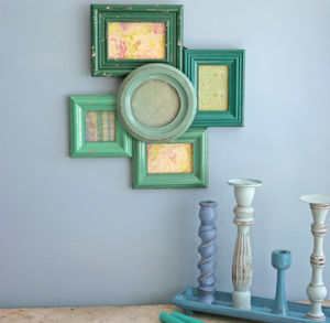 Cluster Frame Sea Green