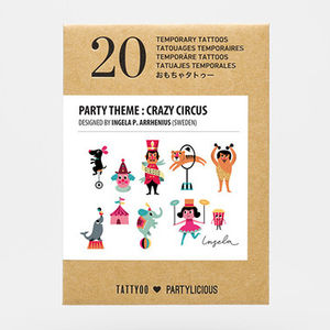 Children's Temporary Tattoos Party Pack - pretend play & dressing up