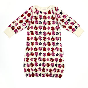 Lucy And Sam Ladybird Print Sleepgown - nightwear