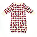 Lucy And Sam Ladybird Print Sleepgown